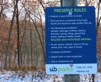 preserve rules