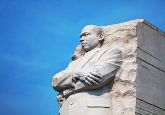 Washington: Martin Luther King, Jr memorial monument on September 2, 2015 in Washington, DC.
