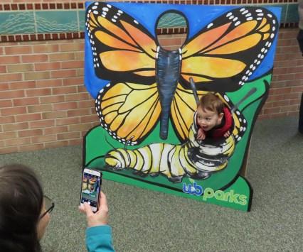 monarch cut out board child