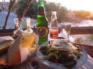 Sunset Meal Santorini