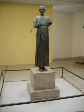 Charioteer of Delphi Heniochos (the rein-holder)