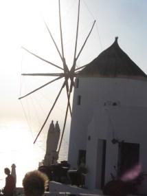 Oia Windmill Santorini
