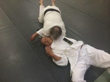 Shimewaza - choking practice