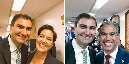 Mayor Schaaf and Dave Kaval