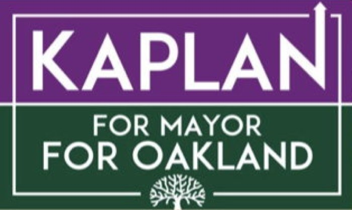 Kaplan For Mayor Logo