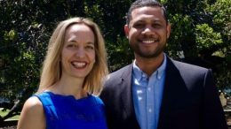 Oakland Councilmember Annie Campbell Washington and Chris Young