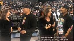 Mayor Schaaf With LL Cool J and Ice Cube