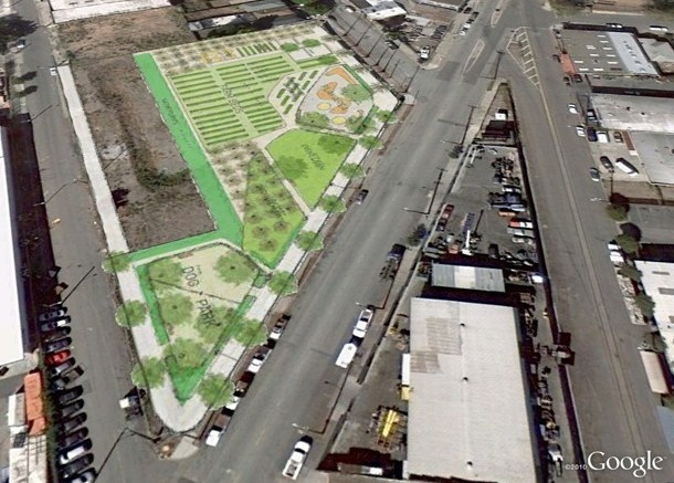 Plans For A Vacant Lot In West Oakland