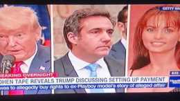 donald trump on tape with michae - Donald Trump On Tape With Michael Cohen Setting Up Deal To Buy Playboy Model's Story