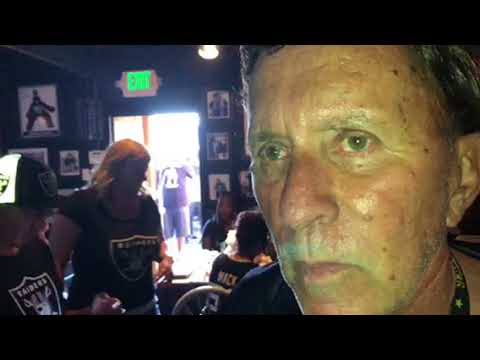 Ricky Ricardo Host Of Jon Gruden Oakland Raiders Fans Party At Ricky's Sports Theater