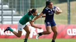 Meet USA Women's Eagles 7's Rugby Team At Oakland Fundraising Party Before Rugby World Cup Sevens 2018