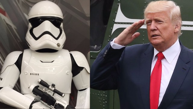 President Donald Trump Wants Space Force Branch Of Military ASAP