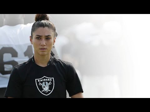 Kelsey Martinez Oakland Raiders First Female Assistant Coach: Strength, Conditioning, Instagram