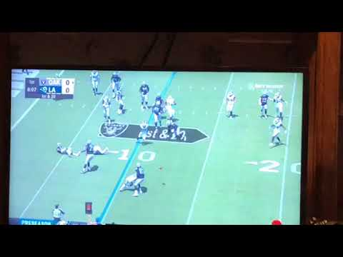 This Bad Oakland Raiders Wide Receiver Screen Play Jon Gruden Should Remove