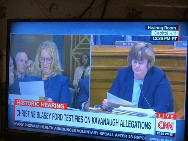 Twitter Reacts To Dr. Christine Blasey Ford Testimony At Brett Kavanaugh Hearings