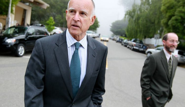 California Gov Jerry Brown
