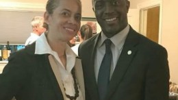 Natasha Middleton and Tony Thurmond