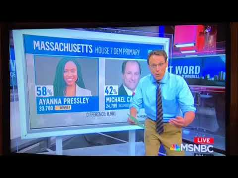 Ayanna Pressley Beats Michael Capuano In Massachusetts House Race Upset