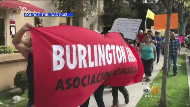 Burlington Avenue Apartment Rent Strike Eviction Notices Dismissed By Los Angeles Property Owner