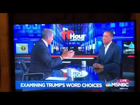 "John McWhorter's Brilliant Take Down Of Donald Trump's Speech On ""The 11th Hour"" On MSNBC"