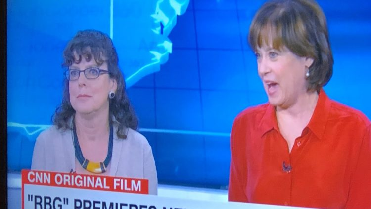"""Julie Cohen And Betsy West, Makers Of """"RBG Movie"""" Interviewed By Anderson Cooper On CNN"""