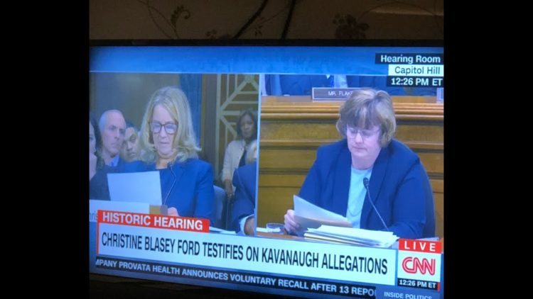 The Ford Kavanaugh Hearings: Zennie62 Livestream Talk With His Mom