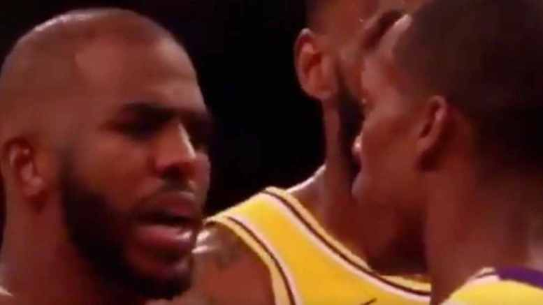 Rajon Rondo spit in the face of Chris Paul