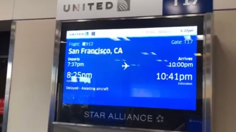 Zennie Abraham At United Airlines Gate T17 Atlanta With A Travel Tip