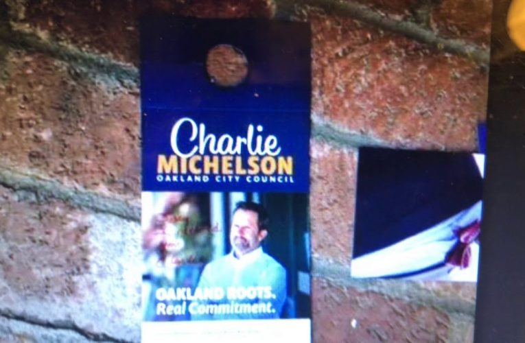 Is Charlie Michelson Still Running For Oakland City Council District 4 After Quitting?