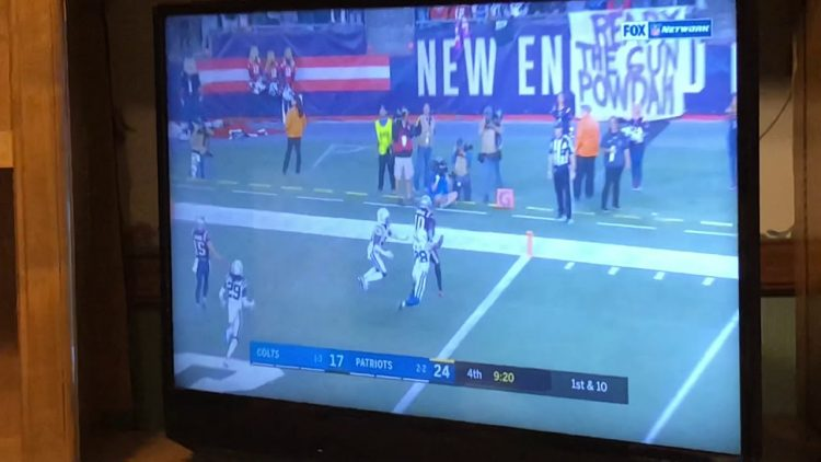 Josh Gordon Catches First TD Pass As New England Patriots Player vs Colts