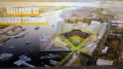 Oakland A's New Ballpark Design by Bjarke Ingels Group