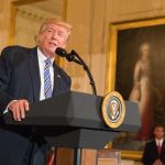 President Donald Trump (photo courtesy Cleveland Jewish News)