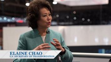 Elaine Chao At CES Las Vegas 2018 - Back As Keynote For 2019