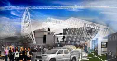 Oakland Raiders New Coliseum NFL Stadium Design