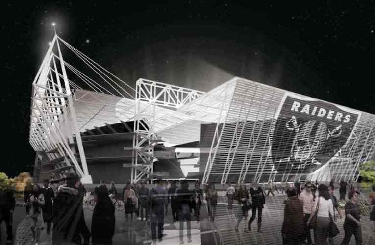 Oakland Raiders New Coliseum NFL Stadium Design Concept You Never Saw