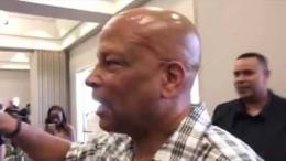 Ronnie Lott at Ray Bobbitt's Oakland Raiders Fans Rally