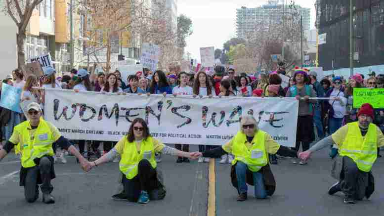 Women's March Oakland - IndyBay Photo