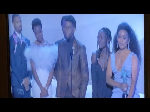 Black Panther Wins Best Movie Cast At Screen Actors Guild Awards 2019