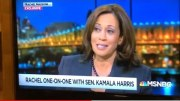 Sen Kamela Harris, Presidential Candidate, Talks Oakland Roots On Rachel Maddow