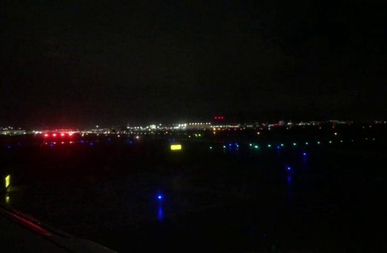 United Airlines Airbus A320 Takeoff SFO To ATL Night