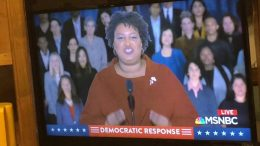 stacy abrams sotu speech sets de - Stacy Abrams SOTU Speech Sets Democratic Values