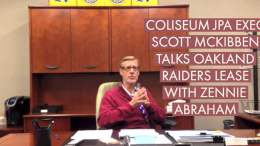 Oakland Coliseum JPA Exec Scott McKibben Talks Oakland Raiders Lease Extension With Zennie Abraham