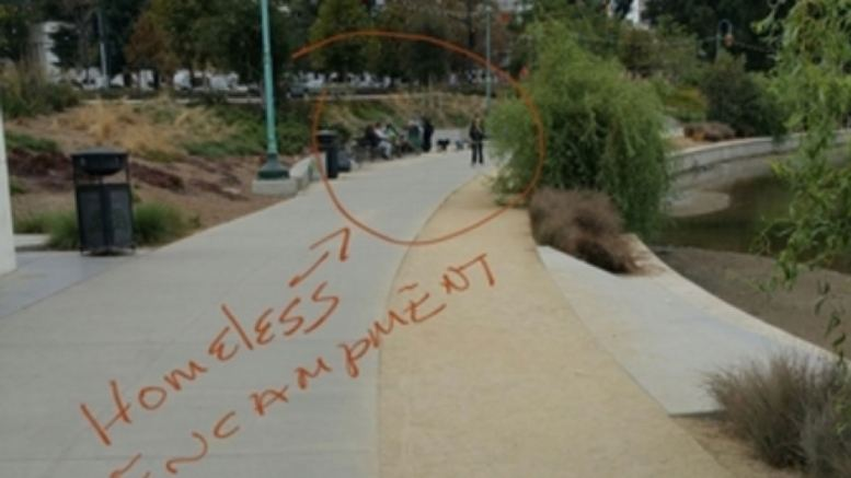 Oakland Homeless Encampment