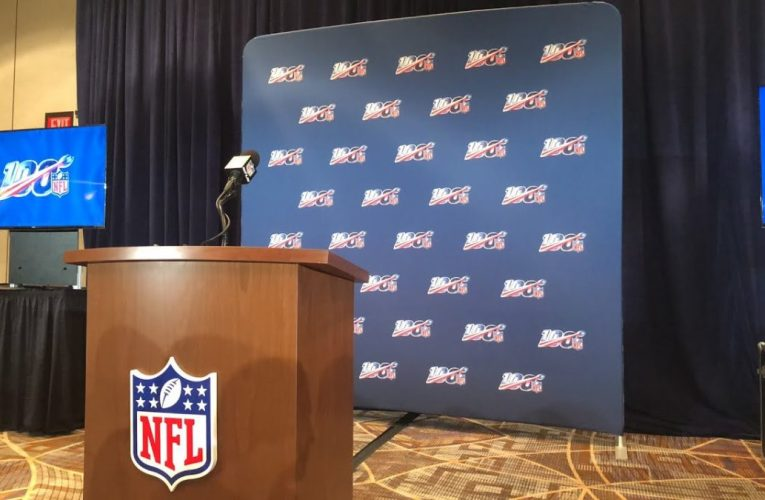 """NFL Annual Meeting 2019 Afternoon Press Conference On """"NFL 100"""""""