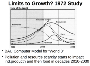Limits To Growth Model
