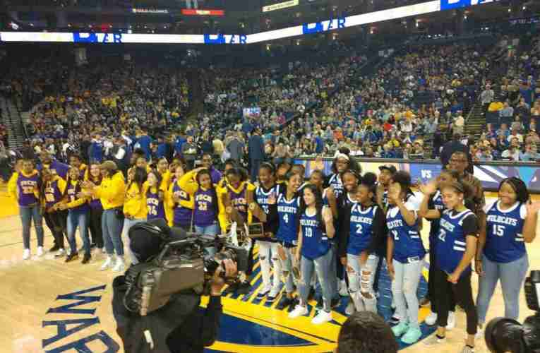 Oakland High, Oakland Tech Girls California Basketball Champions Honored By City