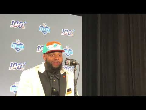 christian wilkins miami dolphins - Christian Wilkins Miami Dolphins 2019 NFL Draft Pick Interview