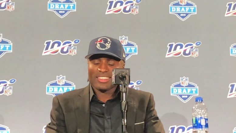 JoeJuan Williams Patriots NFL Draft Pick Says What Avenger He Would Be