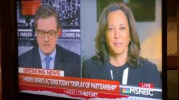 Sen. Kamela Harris On Mueller Report, Barr Presser, On MSNBC