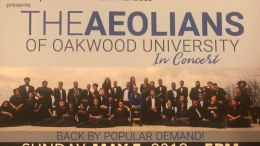 The Aeolians Of Oakwood University Free Concert In San Francisco May 5th